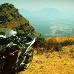 Rugged terrain suits the CBR250R